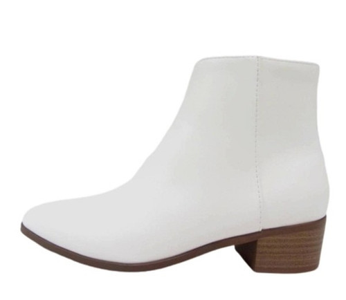 Kimbo Booties, White