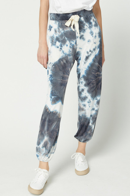 Fall Tie Dye Joggers, Charcoal