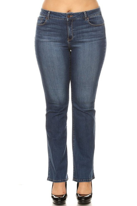Curvy High Rise Bootcut Jean, Medium
