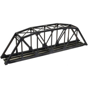 ATLAS 2070 N CODE 55 SINGLE TRACK TRUSS BRIDGE KIT BLK