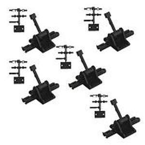 CAB 5218S HO/N GROUND THROW Sprung .165 TRAVEL (5)PACK