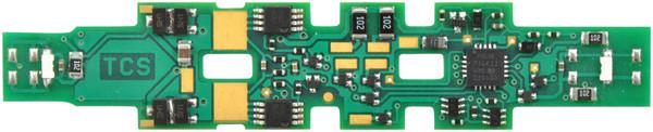 TCS N K5D7 DECODER KATO FOR N Scale F40PH metra & xmas
