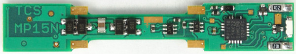 TCSN MP-15 N DECODER KATO FOR  the Atlas MP-15 N-Scale locomotive.