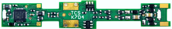 TCS N K7D4 DECODER FOR  Kato N  SDP40F, ACS-64 LOCOMOTIVES