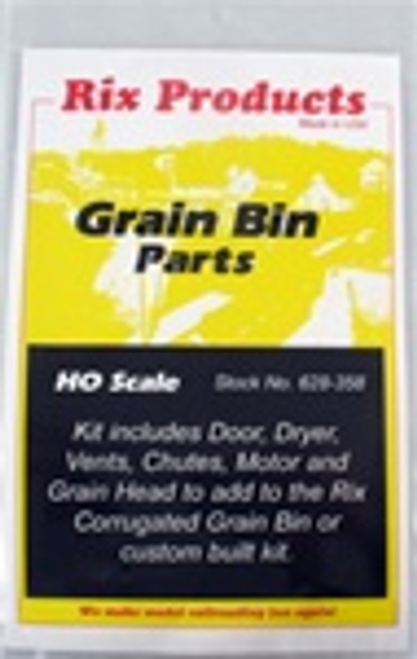 RIX 628-0358 HO GRAIN BIN PARTS
