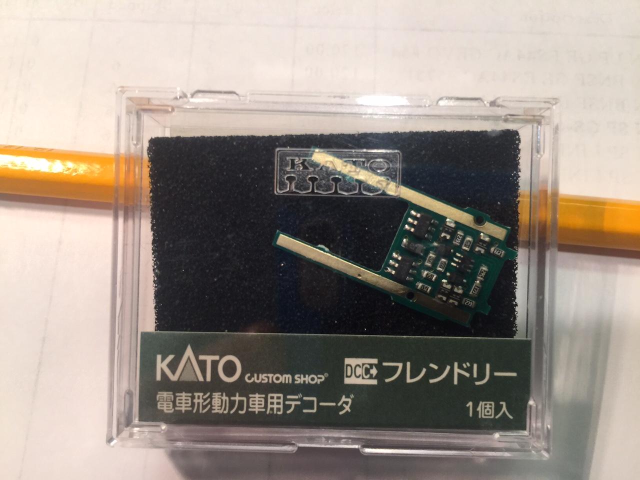 Kato 29-351 EM13 DCC DECODER