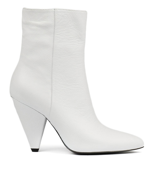 APAGE WHITE LEATHER