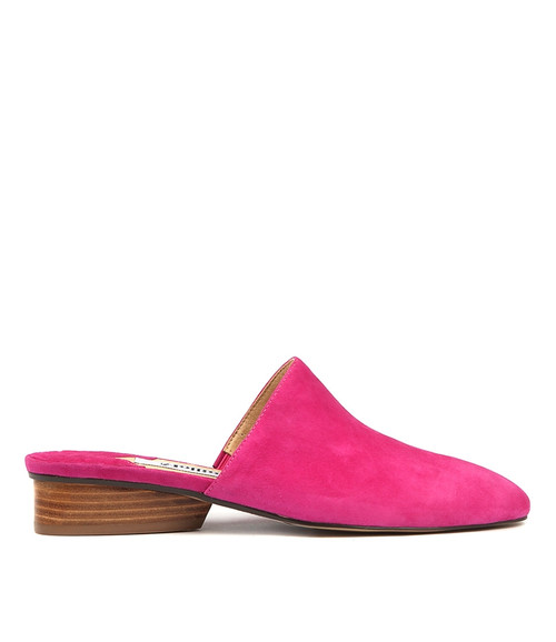 ANOUP PINK SUEDE
