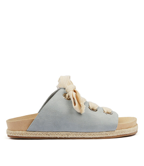 FRONNIE LT BLUE SUEDE