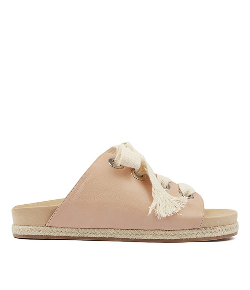 FRONNIE PALE PINK LEATHER