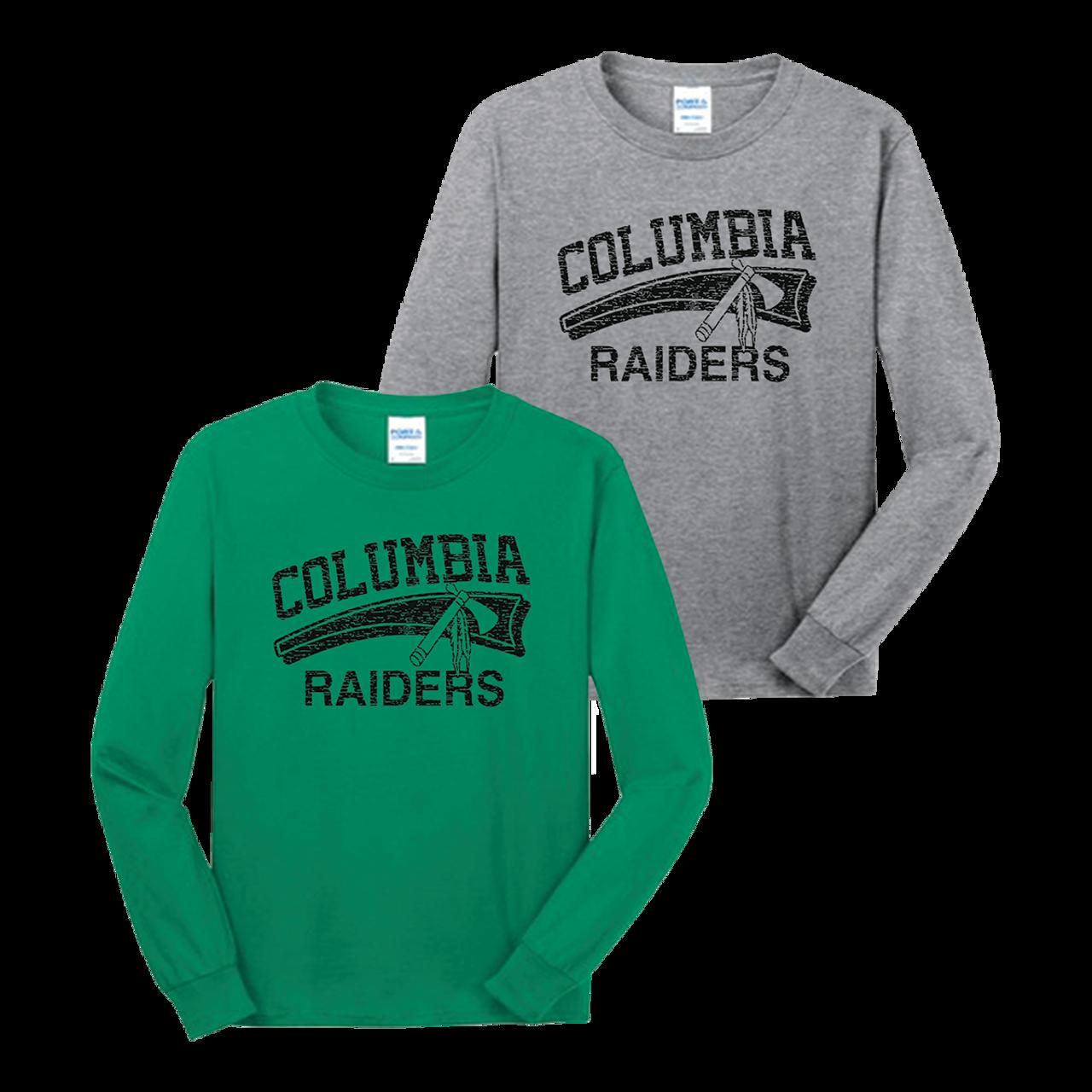 fe320f2355bca Columbia Raiders LS Tee (F185) - RycoSports