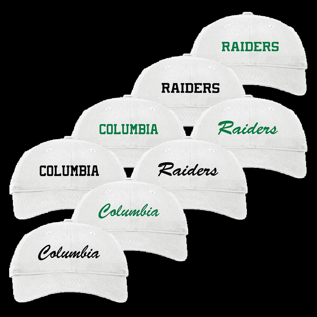 60a15b2a03e6f Columbia Raiders Adjustable Cap (RY200-RY207) - RycoSports