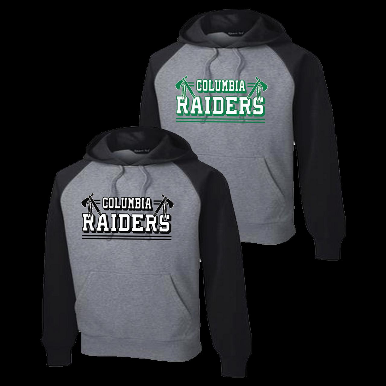 3d5503f05ebfa Columbia Raiders Colorblock Hoodie (F183 F184) - RycoSports