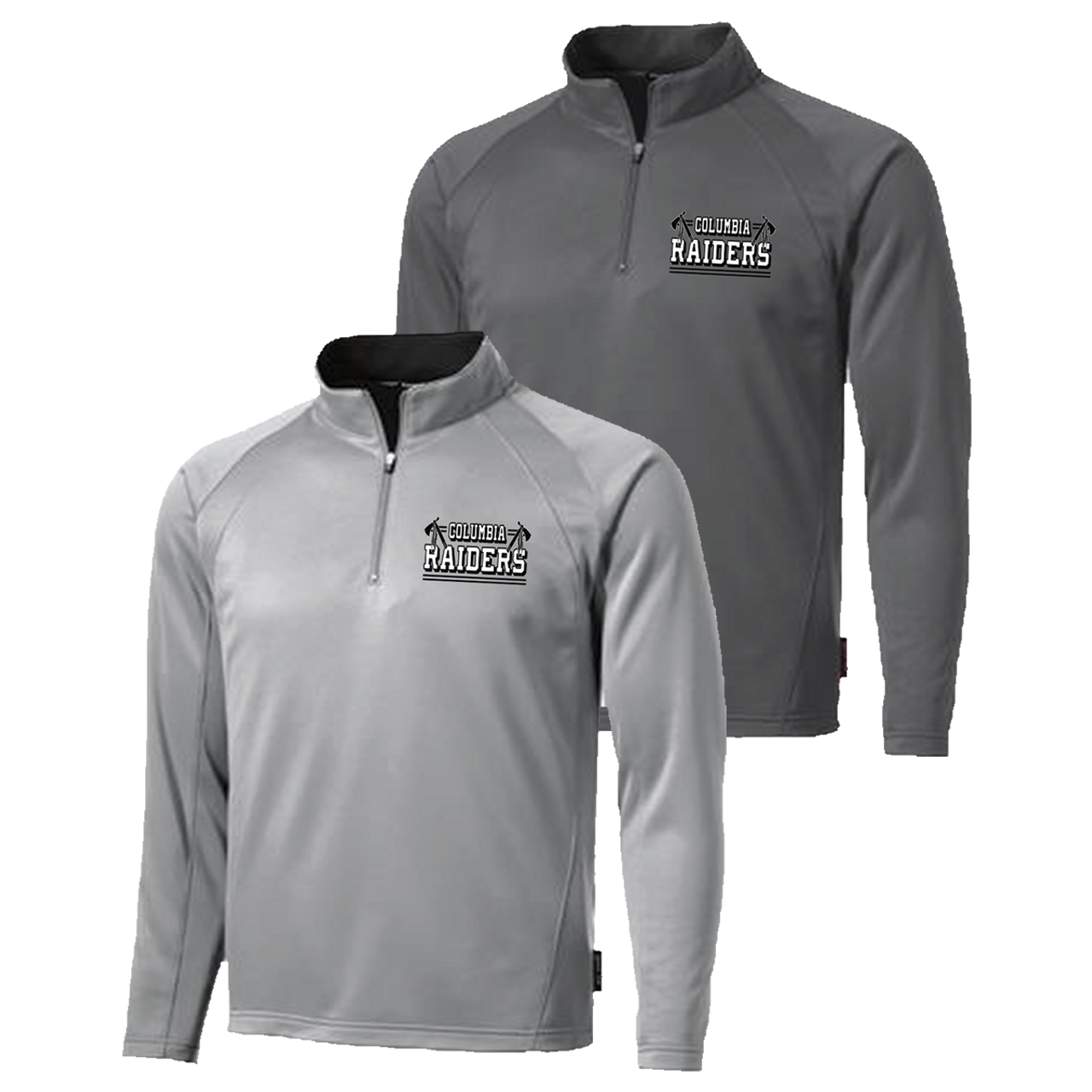865c4141043a6 Columbia Raiders 1 4 Zip Pullover (S136) - RycoSports