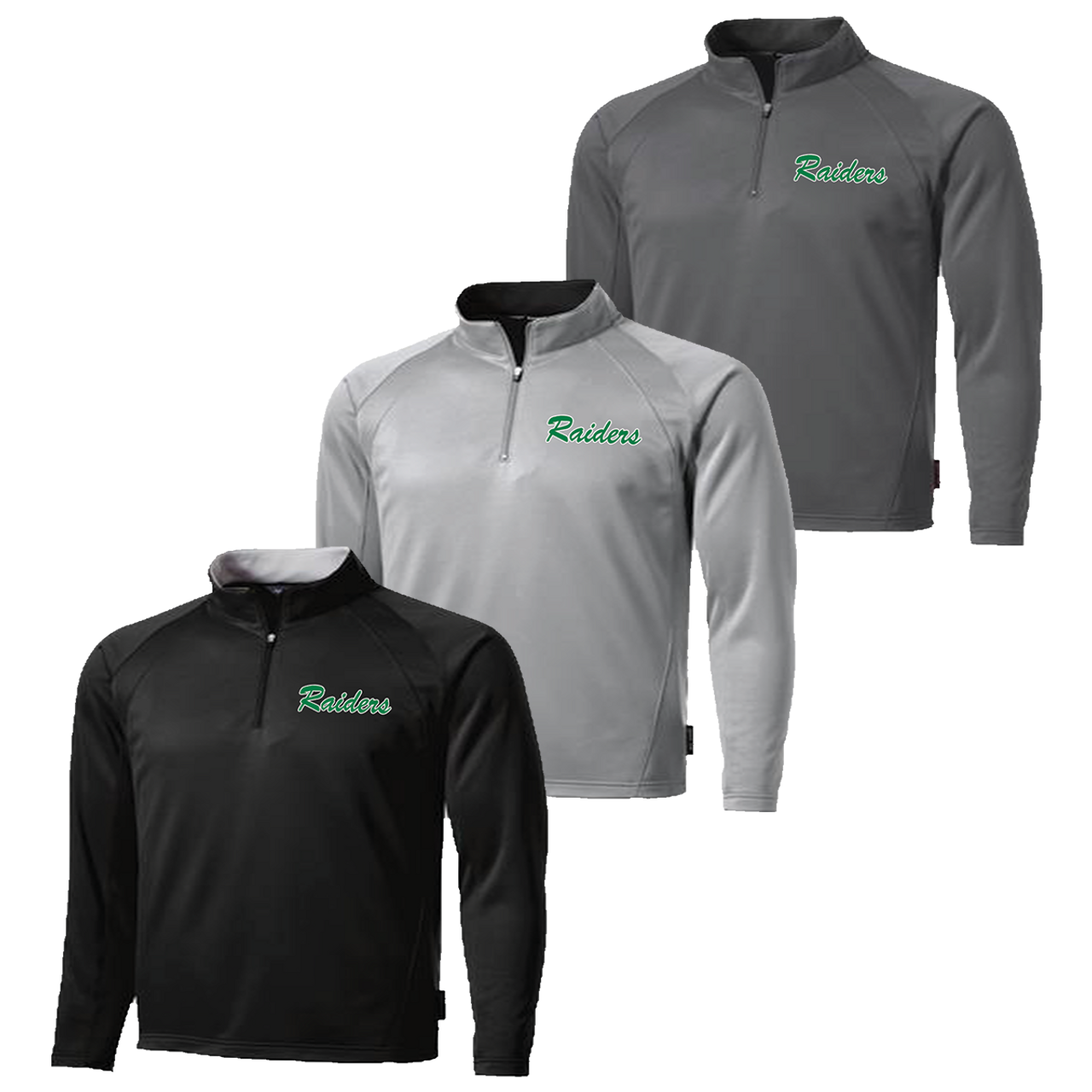 8a378fbb2889a Columbia Raiders 1 4 Zip Pullover (RY203) - RycoSports