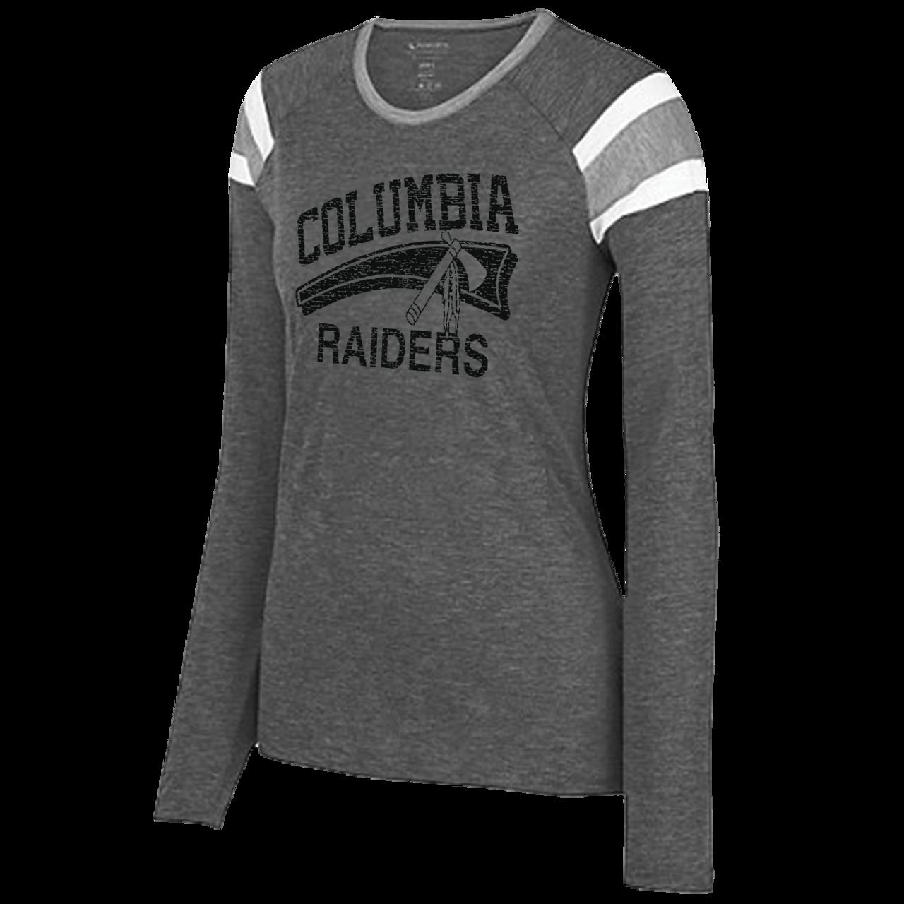 8d1793b9eb9f6 Columbia Raiders Ladies Fanatic LS Tee (F185) - RycoSports