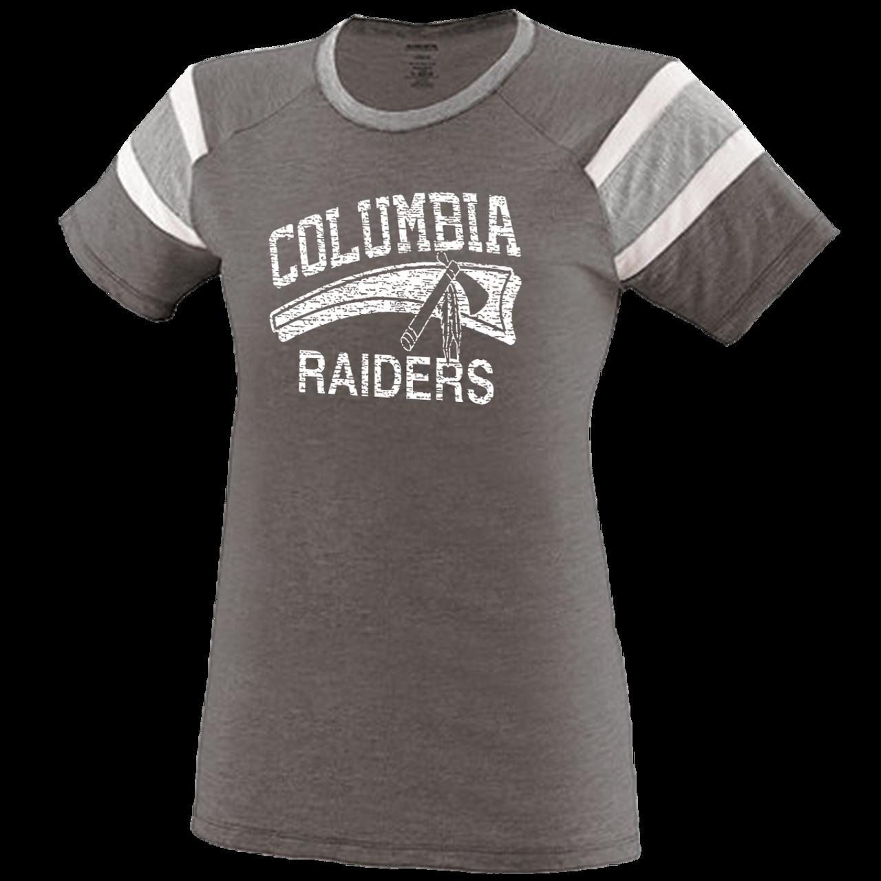 406eaa76bba2f Columbia Raiders Girls Fanatic Tee (F186) - RycoSports