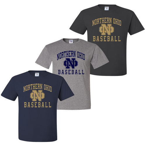 Northern Ohio Tee - Navy, Oxford, Charcoal