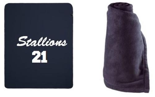 2015 Stallions Fleece Blanket