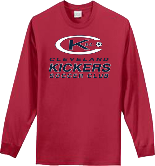 Cleveland Kickers LS Tee (F023F024)