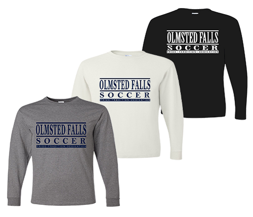 OFHS Long Sleeve Practice Tee Set - Oxford, White, Jet Black