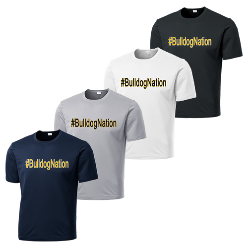 #BulldogNation Performance Tee
