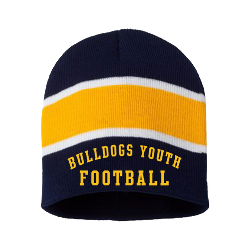 Bulldog Youth Football Beanie (RYCO43)