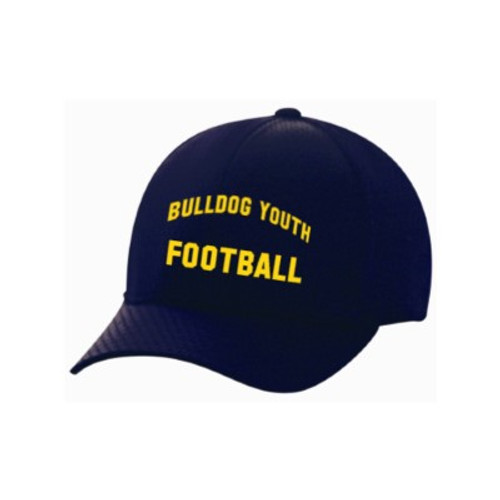 Bulldog Youth Football Flex-Fit Hat
