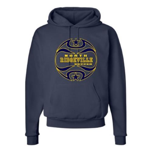 North Ridgeville HS Boys Soccer Hooded Sweatshirt