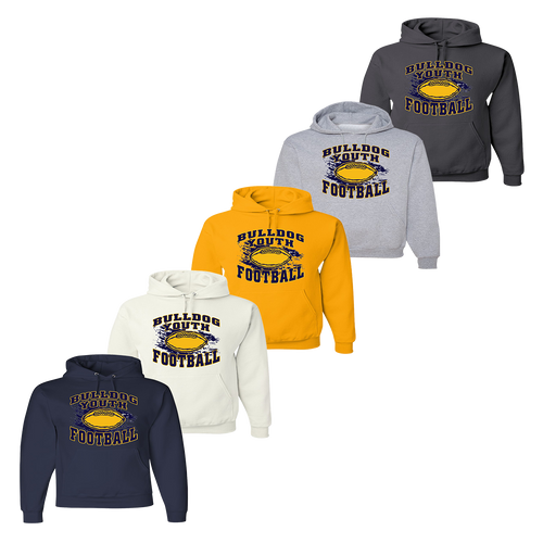 Bulldog Youth Football Hoody