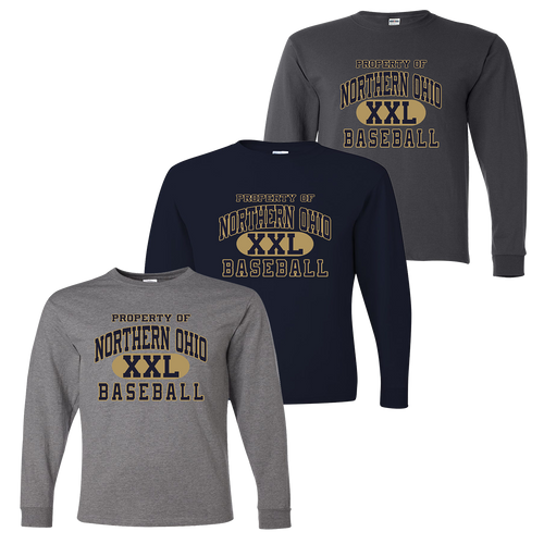 Northern Ohio Long Sleeve Tee - Athletic Heather, Navy, Charcoal