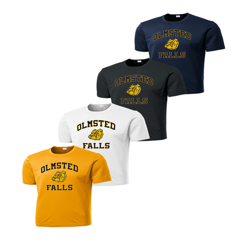 Olmsted Falls Dry Fit - Gold, White, Iron Grey and Navy