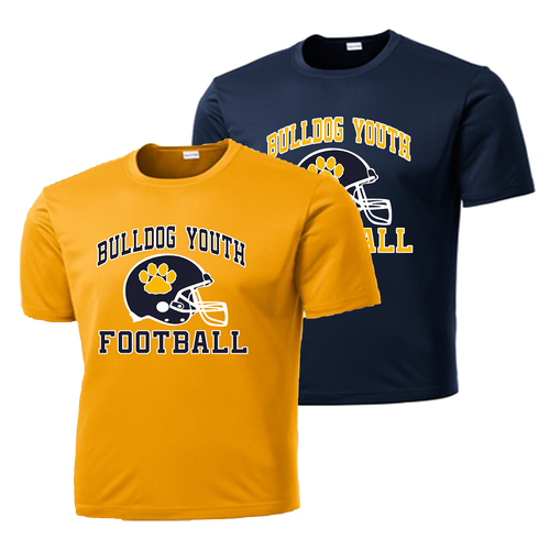 Bulldog Youth Football Performance Tee