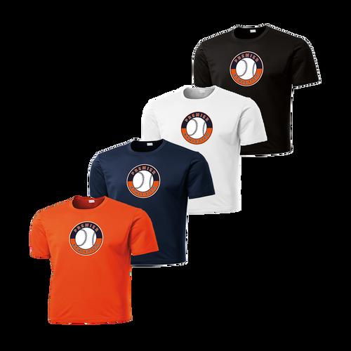 Full Front Shield Logo - Deep Orange, Navy, White and Black