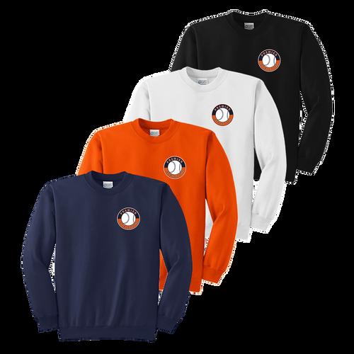 Left Chest Shield Logo - Navy, Orange, White and Black