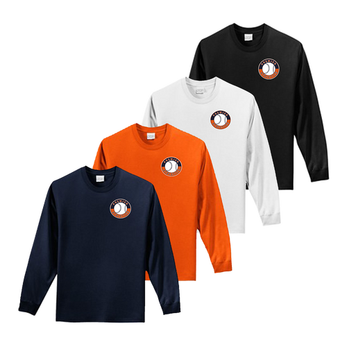 Shield Logo Left Chest - Navy, Orange, White and Black