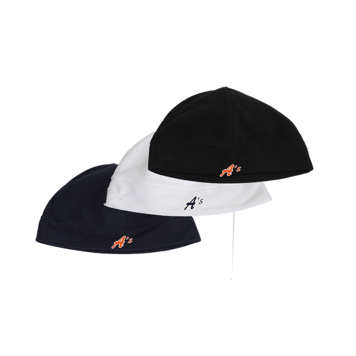 Premier Beanie - A's Logo - Navy, White and Black