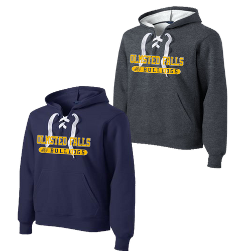 Olmsted Falls Bulldogs Lace Hoodie