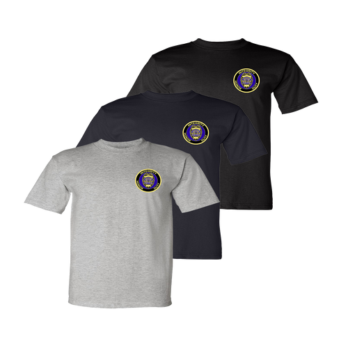 LPD Tee - Dark Ash, Navy, Black