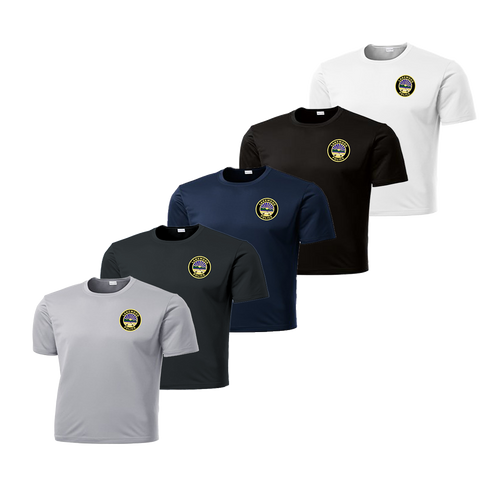 LPD Dry Fit Tee - Silver,Iron Grey,Navy,Black,White