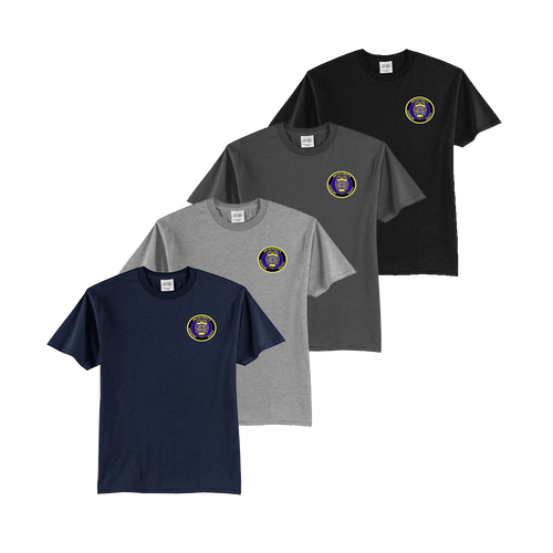 LPD Youth Tee - Navy,Athletic Heather,Charcoal,Black