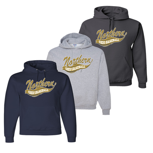 Northern Ohio Hoody - Navy, Athletic Heather, Charcoal
