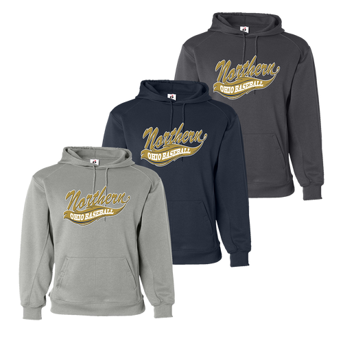 Northern Ohio Performance Hoody - Silver, Navy, Charcoal