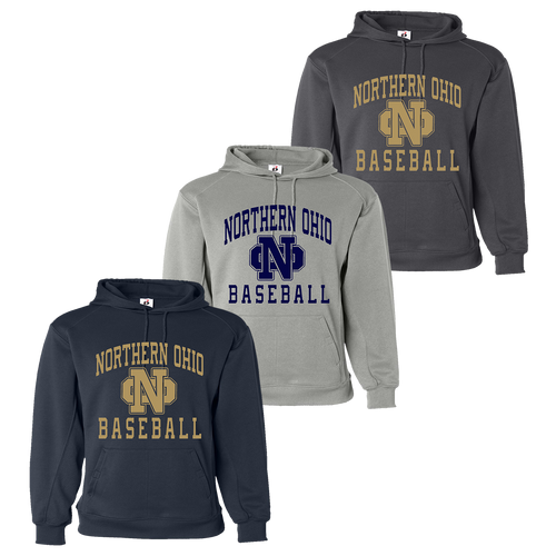 Norther Ohio Performance Hoody - Navy, Silver, Graphite