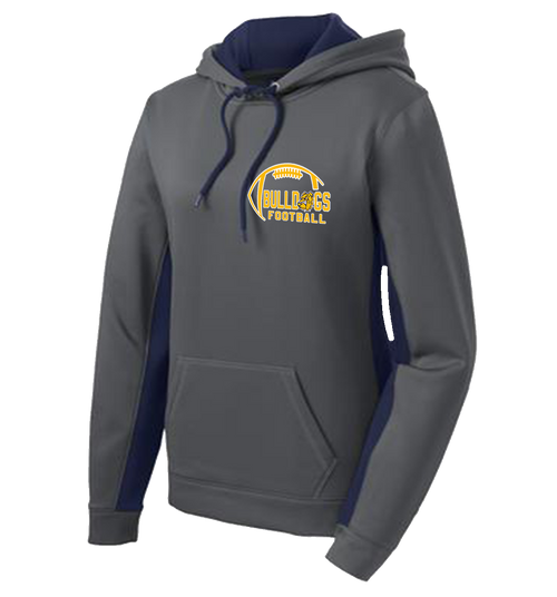 Bulldogs Football Ladies Performance Hoody (S039)