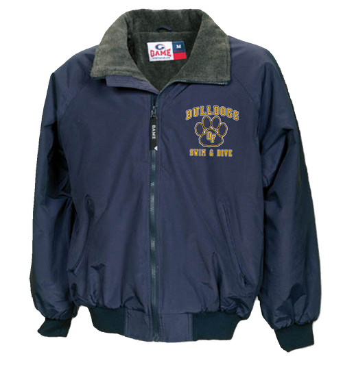 Bulldogs Swim & Dive Game Jacket (RYCO97)