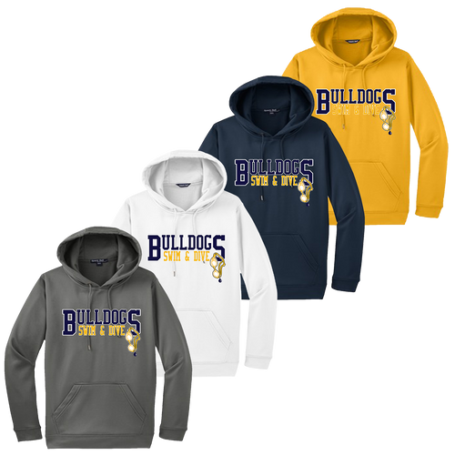 Bulldogs Swim & Dive Performance Hoody