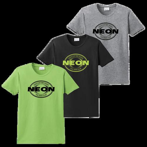 Neon Swim Ladies Tee - Set