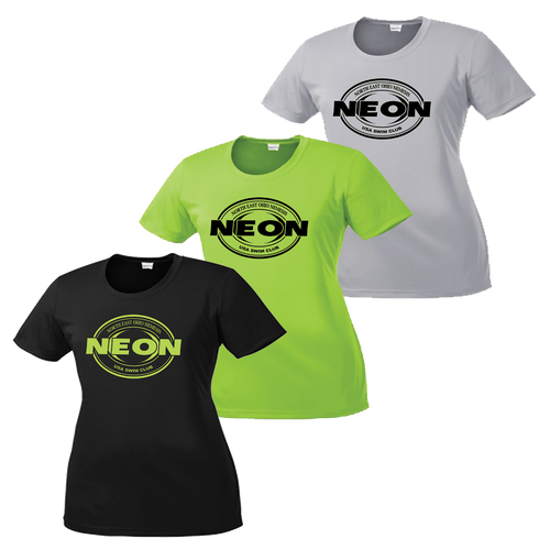 NEON Swim Ladies Performance Tee - Set