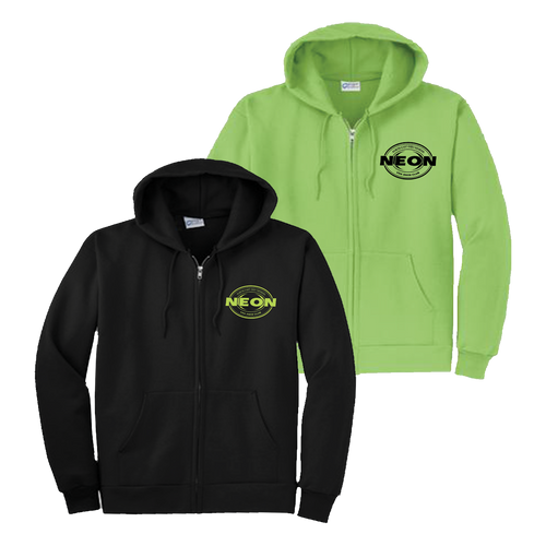 NEON Swim Zip Hoody